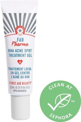 First Aid Beauty FAB Pharma BHA Acne Spot Treatment Gel 2% Salicylic Acid