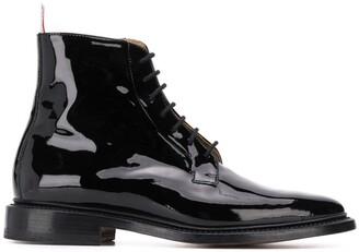 Thom Browne Soft Leather Blucher Boot