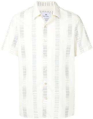 Paul Smith Short-Sleeve Cotton Striped Shirt