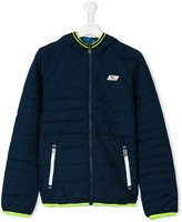 Vingino neon contrast padded jacket - kids - Polyester - 14 yrs