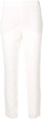 Lanvin Cropped Mid Rise Trousers