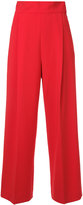 H Beauty&Youth flared high-waisted trousers