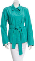 Akris Silk Belted Jacket
