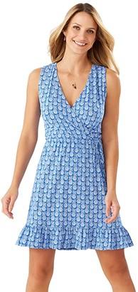 Tommy Bahama Fineapple Sleeveless Sundress (Turkish Sea) Women's Dress