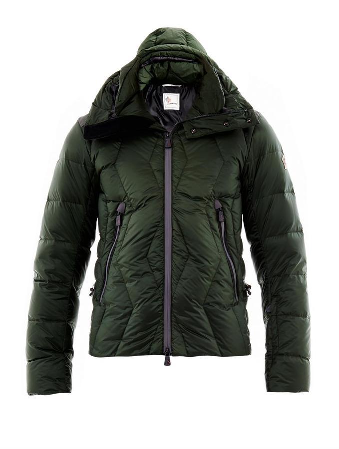 Moncler Kangri quilted down jacket