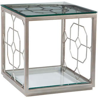 Artistica Honeycomb Side Table - Argento Silver