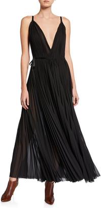 TRE by Natalie Ratabesi Sleeveless Plisse Wrap Dress