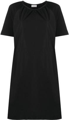Moncler Short Sleeve Poplin Dress