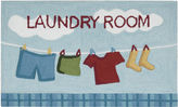 Nourison Laundry Hand-Hooked Rectangular Rug