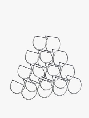 John Lewis & Partners Triangular Wine Rack, 10 Bottle