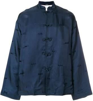 Visvim embroidered longsleeved shirt
