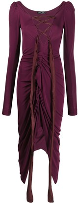 Andreas Kronthaler For Vivienne Westwood Lace-Up Detail Dress