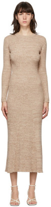ANNA QUAN Beige Talia Dress
