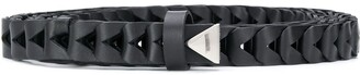 Bottega Veneta Chevron Leather Belt