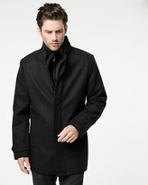 Le Château Melton Funnel Neck Car Coat
