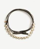Ann Taylor Jeweled Ribbon Choker