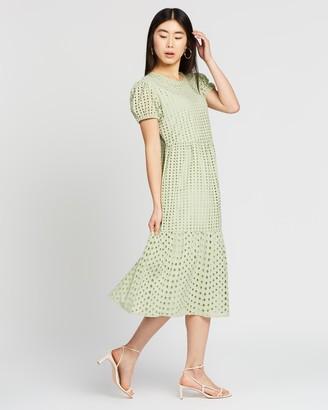 Only Sannie SS Calf Dress