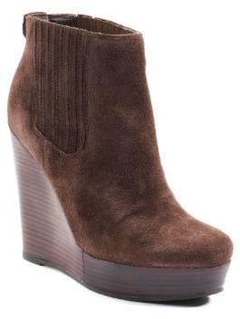 MICHAEL Michael Kors Emory Wedge Suede Ankle Boots