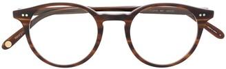 Garrett Leight Clune round optical glasses