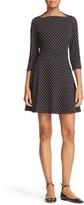 Kate Spade Women's Dot Fit & Flare Dress