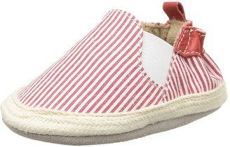 Robeez Summer Camp Baby Shoes Baby Boy - Red / White - 18-24 Months
