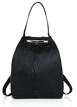 The Row Women's Smooth Leather Backpack 11
