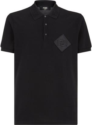 Fendi Logo Patch Polo Shirt