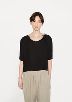 Black Crane Dolman Top