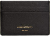 Woman by Common Projects Black Multi Card Holder