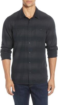 Travis Mathew TravisMathew Harmonic Regular Fit Stripe Button-Up Shirt