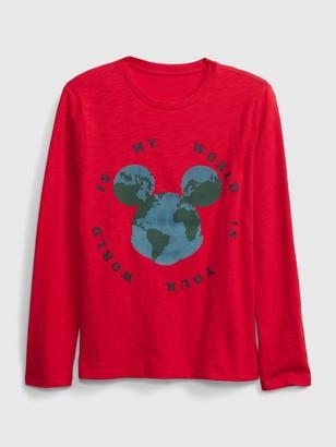 Disney GapKids | Mickey Mouse Crewneck T-Shirt