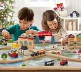 Pottery Barn Kids Town and Country Wooden Train Set