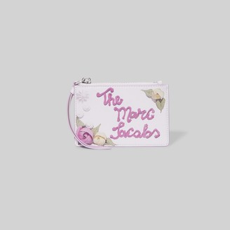 Marc Jacobs The Printed Cake Box Top Zip Multi Wallet