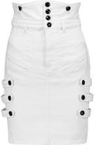 Isabel Marant Noor stretch-denim mini skirt
