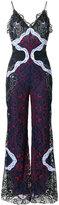 Jonathan Simkhai lace flared jumpsuit