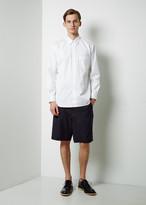 Comme des Garçons Shirt Boy Wool Gabardine Workstitch Shorts