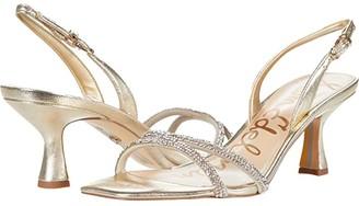 Sam Edelman Ronan (Gold) Women's Sandals