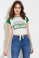 Forever 21 Simply Brilliant Graphic Tee