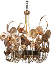 Global Views Lilium Chandelier - Brass/Bronze