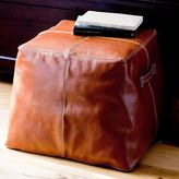 PBteen Leather Ottoman