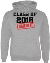 Old Glory Graduation - Class of 2016 Nailed It Sport Adult Hoodie