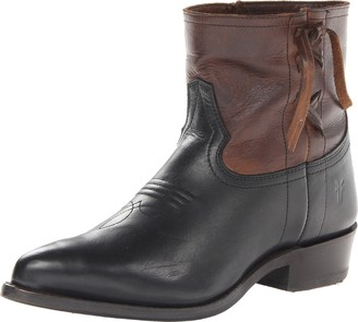 Frye Women's Billy Cross Stitch Short Boot