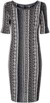 St. John Knitted Tweed Dress