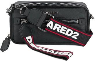 DSQUARED2 logo tape belt bag