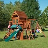 Nickelodeon Swing-n-Slide Winchester Wood Complete Swing Set