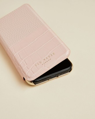 Ted Baker Croc Iphone 11 Pro Book Case