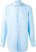 Kiton classic shirt - men - Linen/Flax - 38