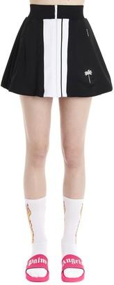 Palm Angels Zipped Mini Skirt