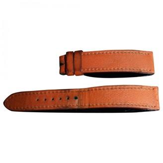 Hermã ̈S HermAs Orange Leather Watches