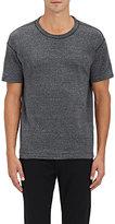 Nlst Men's Cotton-Wool Jersey T-Shirt-Dark Grey Size M